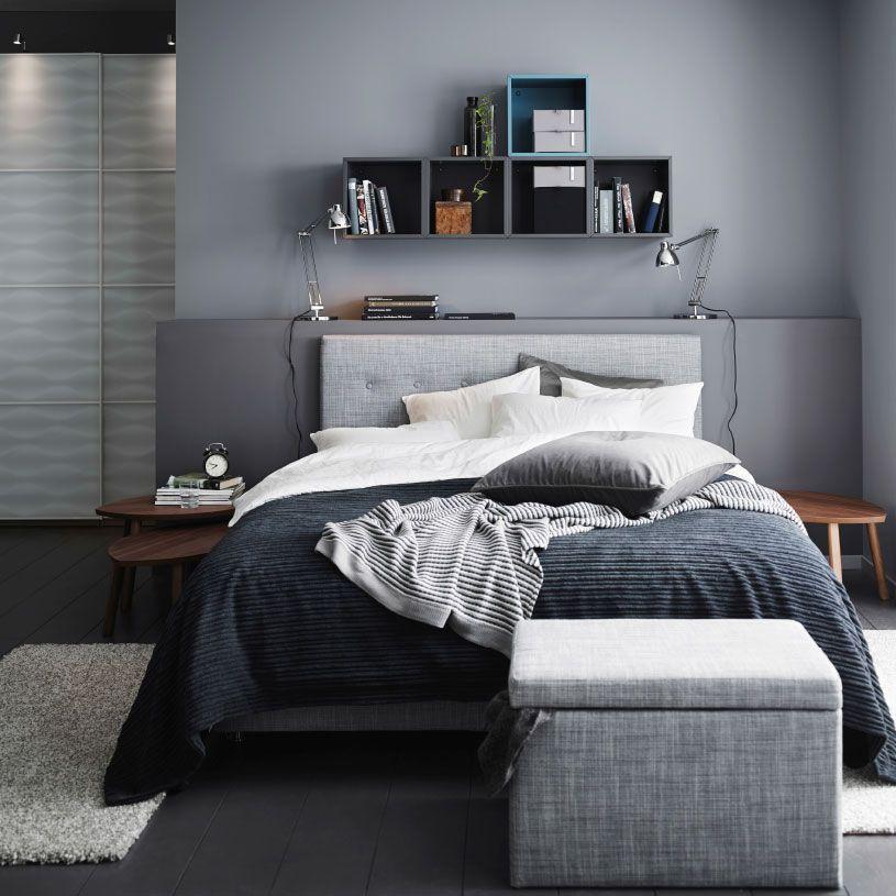 Màu xám – Màu sơn phòng ngủ đẹp hợp với người mệnh Kim, mệnh Thủy