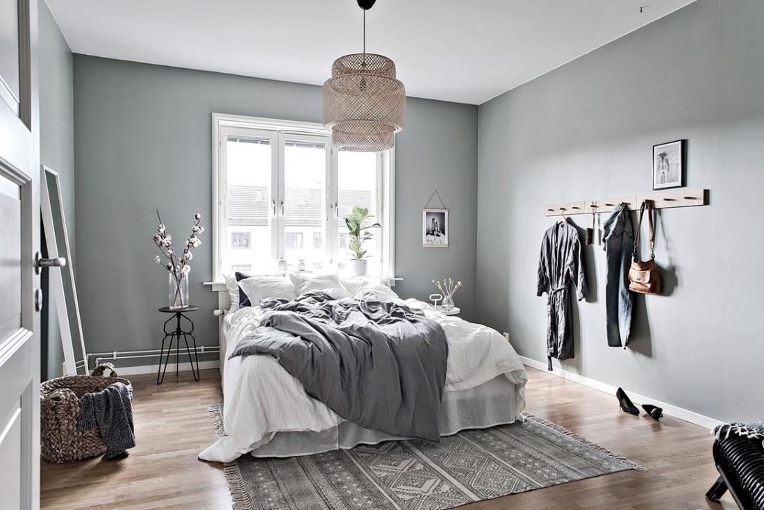 Phòng ngủ màu xám 2