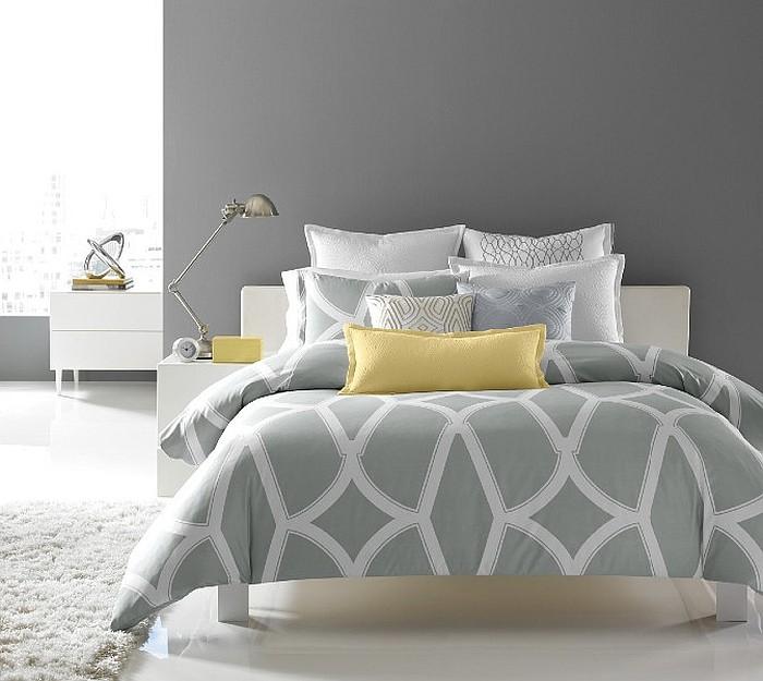 Phòng ngủ màu xám 3