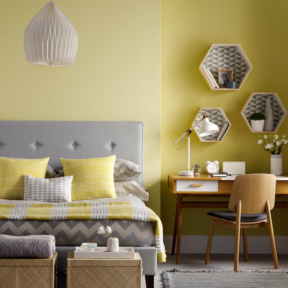 Phòng ngủ màu vàng 2