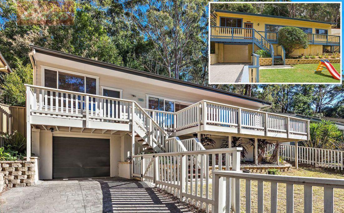 Chủ ngôi nhà này đã thay đổi màu sơn từ vàng và xanh dương sang bảng màu trung tính.