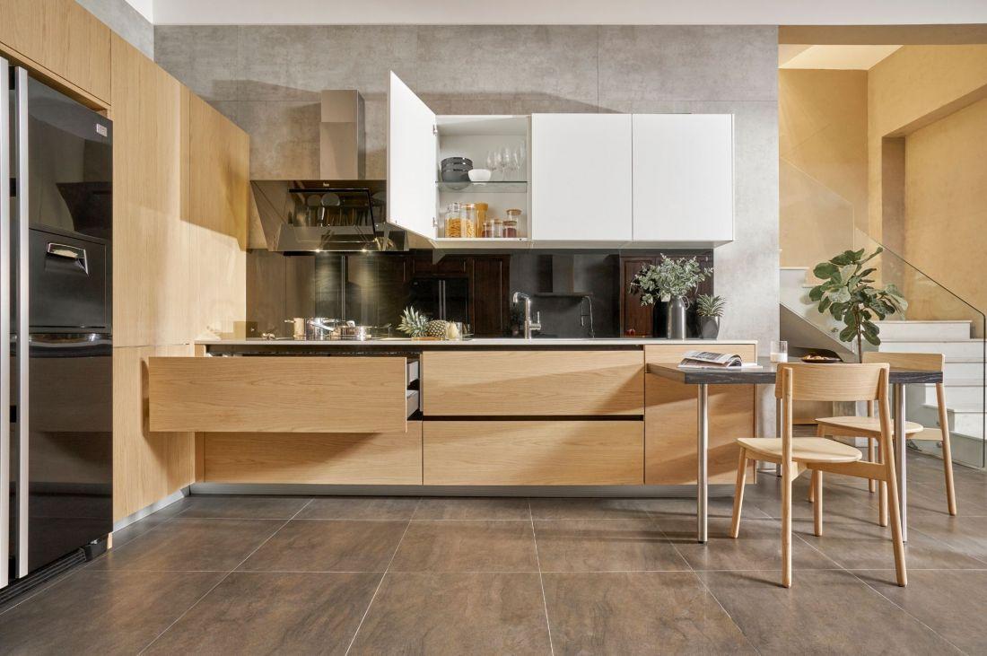 Ứng dụng của gỗ ghép thanh trong trang trí nội thất