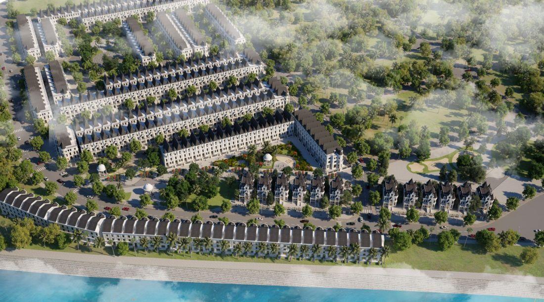 Biệt thự Green Center Villas - The Lotus Center Hà Nội