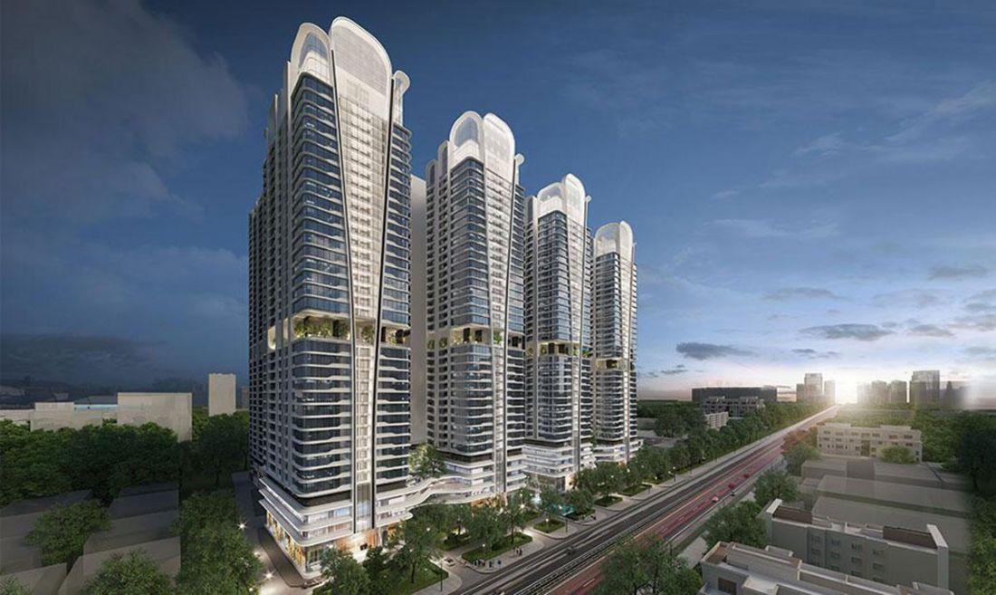 Quy mô dự án căn hộ Astral City Bình Dương