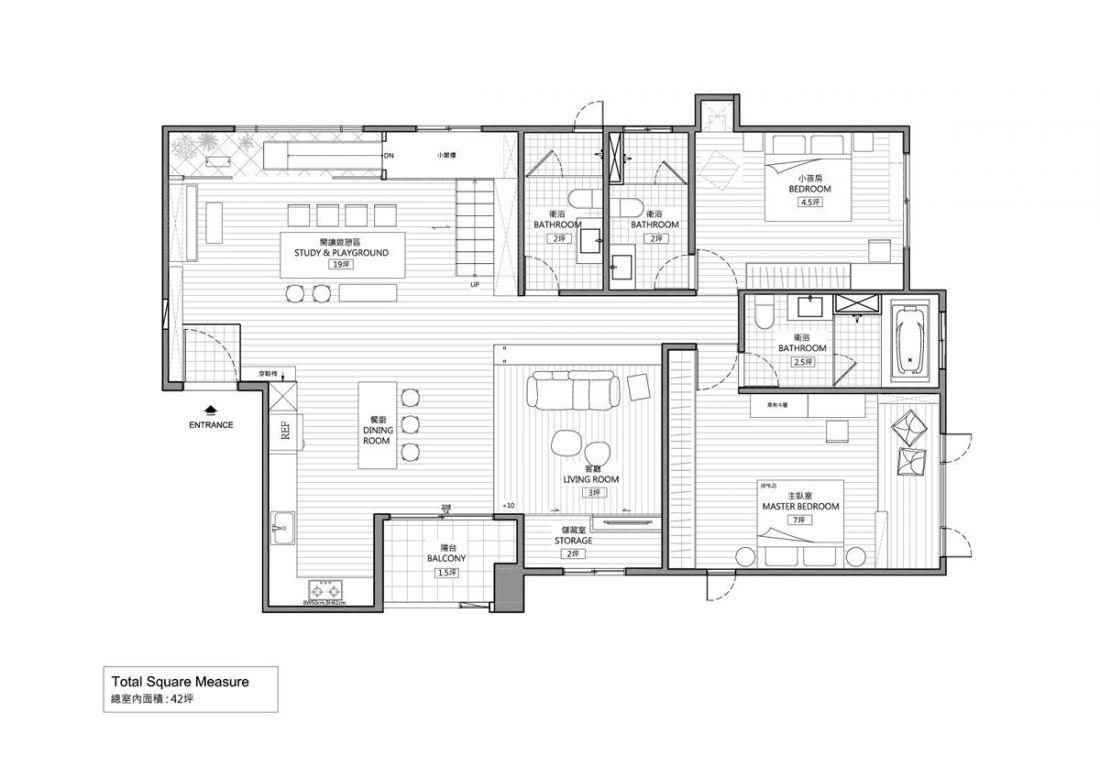 Ngôi nhà với thiết kế khu vui chơi tại gia