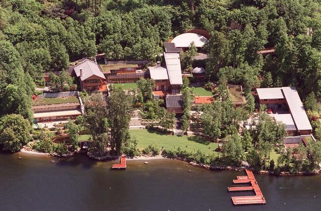 Dinh thự của gia đình Bill Gates tại bang Washington. Ảnh: Getty Images.