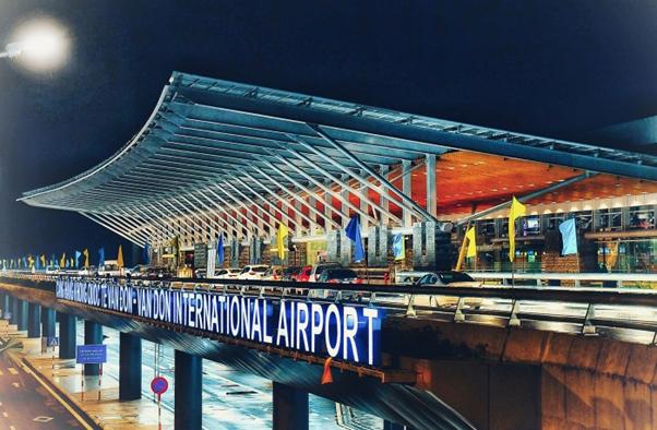 Cảng hàng không quốc tế Vân Đồn.