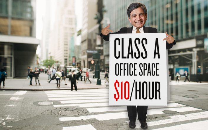 WeWork cung cấp dịch vụ cho thuê văn phòng trả tiền theo giờ