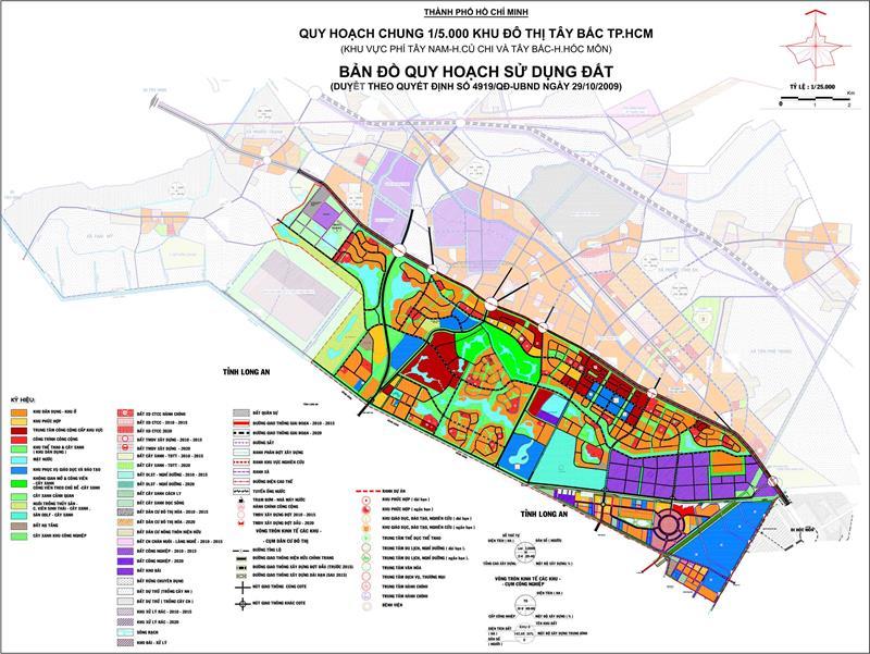 Mở rộng khu đô thị Tây Bắc – Long An hưởng lợi ngay trước mắt