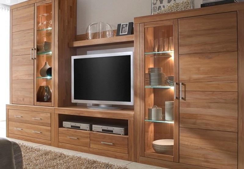 Kệ tủ tivi làm bằng gỗ bằng lăng