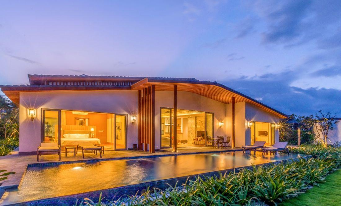 Ocean Luxury Villa by Radisson Blu: Dấu ấn văn hóa bản địa đậm nét