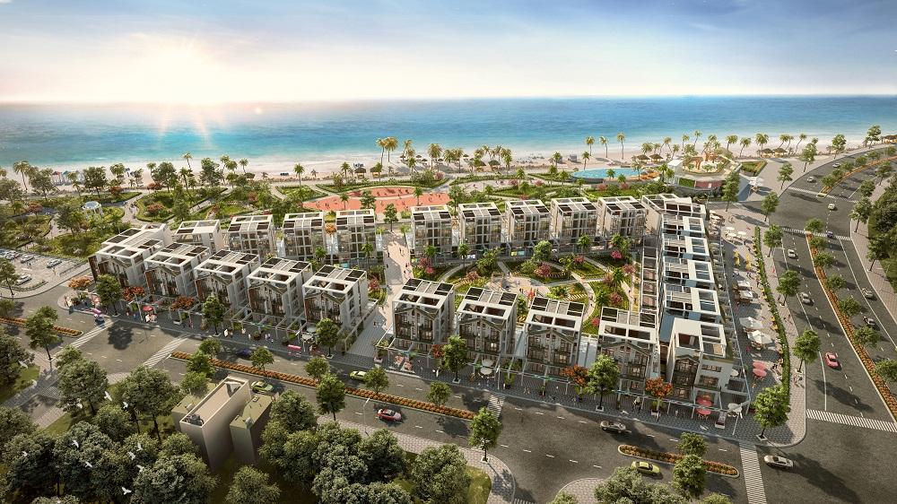 Quy mô dự án biệt thự The Seahara Phú Yên