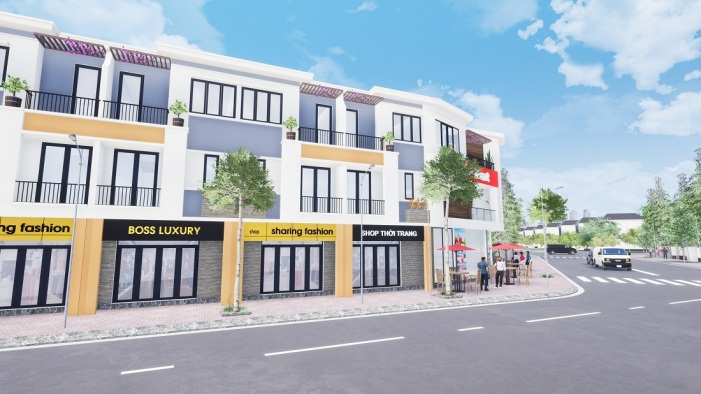 Nhà phố thương mại La Vela Garden Thuận An 3