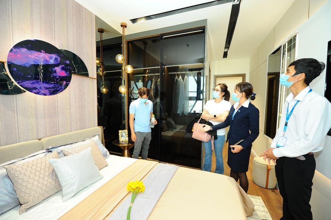 Căn hộ mẫu dự án Opal Skyline được giới thiệu ra thị trường