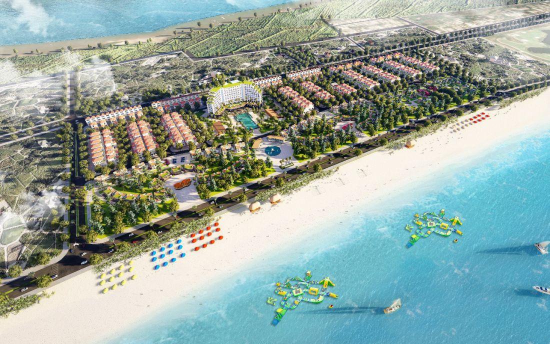 Khu du lịch nghỉ dưỡng Trà Cổ Long Beach Luxury Quảng Ninh 1