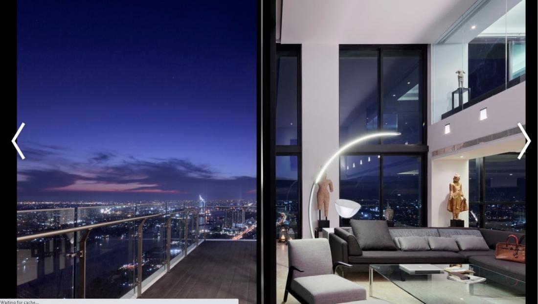 Những thiết kế Penthouse hàng đầu thế giới