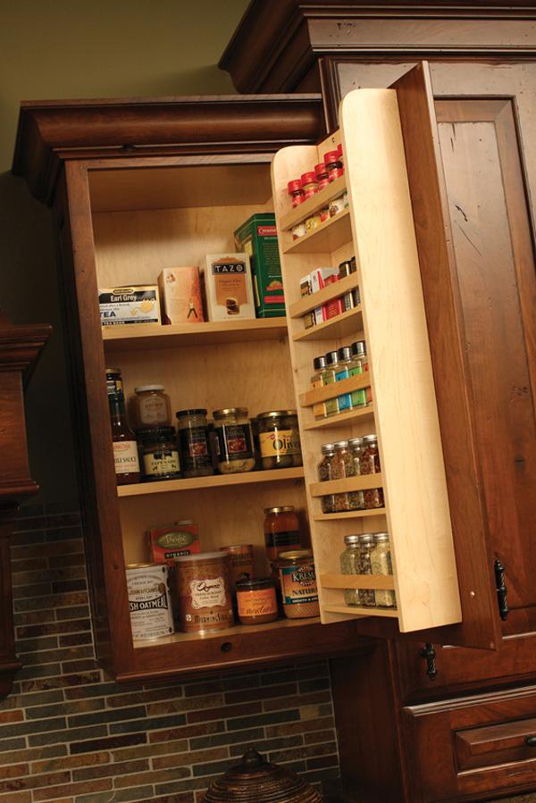 Cách bố trí các ngăn tủ bếp đẹp, ngăn nắp