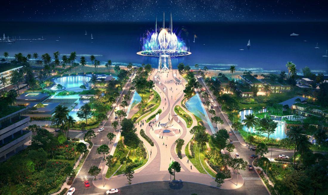 Quảng Trường Biển dự án Thanh Long Bay Phan Thiết