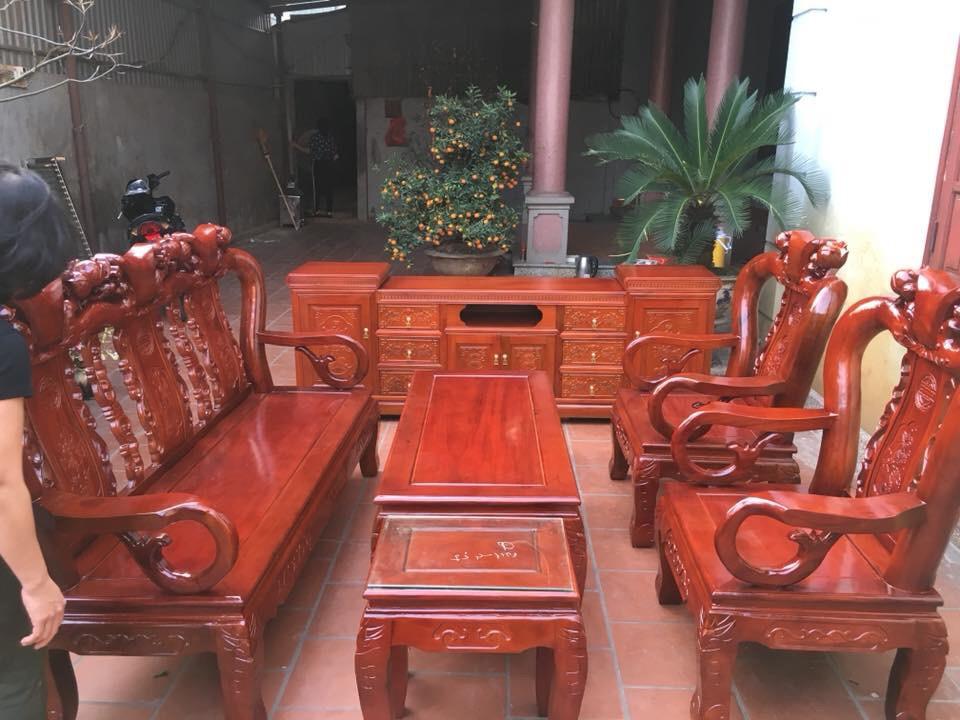 Ứng dụng của gỗ xà cừ trong thiết kế nội thất
