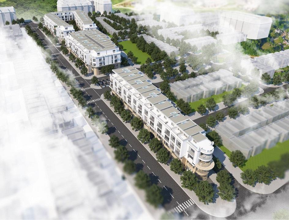 Nhà phố thương mại Gia Lâm Central Metropolitan Hà Nội 1