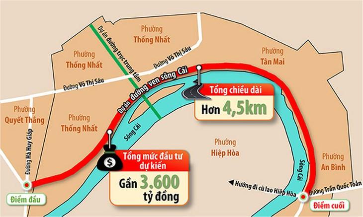 Tiến độ loạt dự án hạ tầng trọng điểm ở Đồng Nai