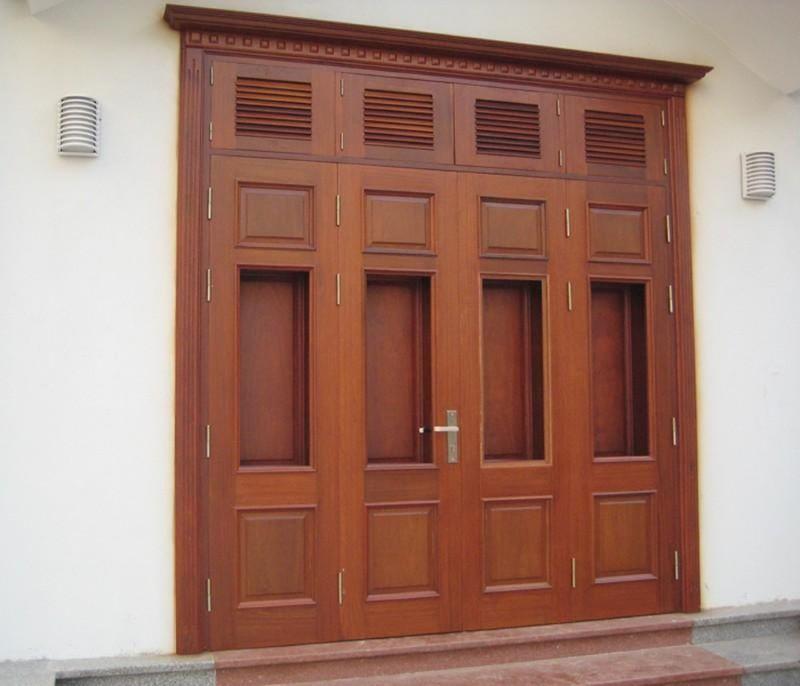 Gỗ Căm Xe dùng để làm cửa