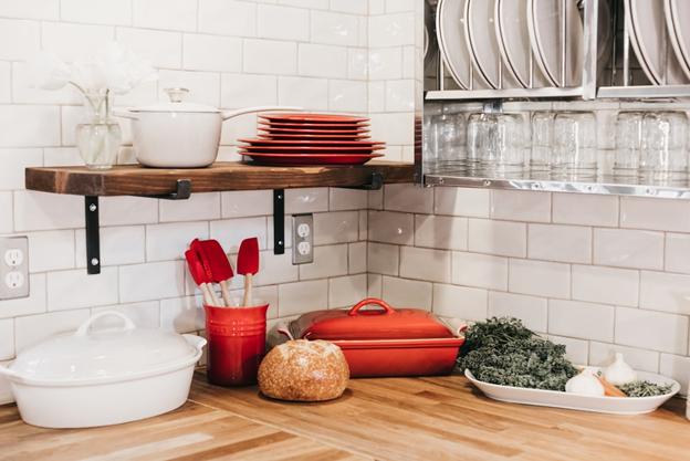 5 giải pháp 'thổi luồng gió mới' cho phòng bếp của bạn