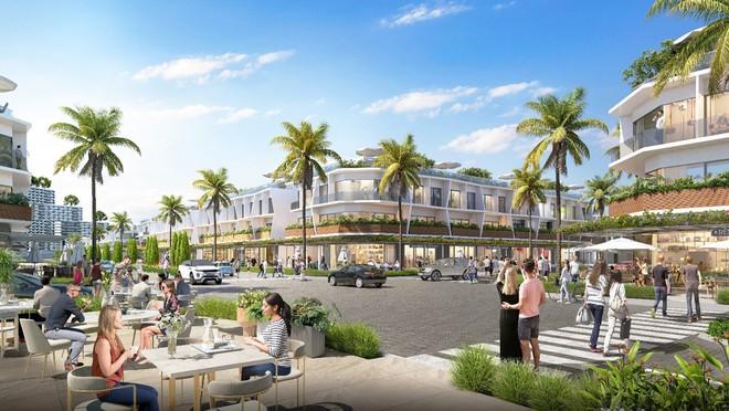 Thiết kế 2 mặt tiền độc đáo giúp nhà phố thương mại biển The Sound thu hút đầu tư