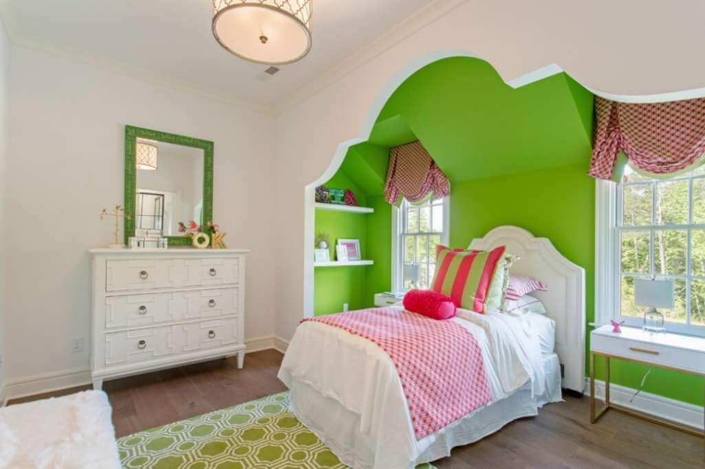 Ý tưởng thiết kế giường ngủ hốc tường cho bé