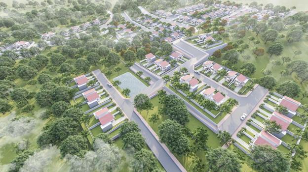 Quy mô dự án đất nền Pine Valley Bảo Lộc