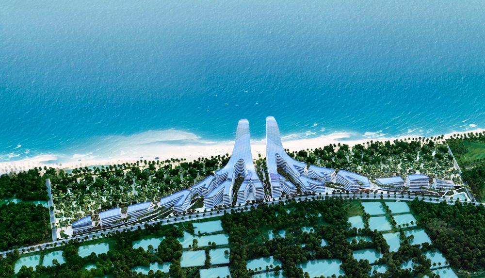 Quy mô dự án căn hộ Charm Hồ Tràm Resort