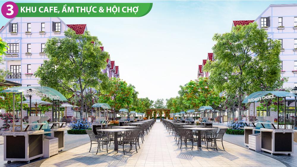 Nhà phố thương mại Milton Pathway Shophouse Phú Quốc