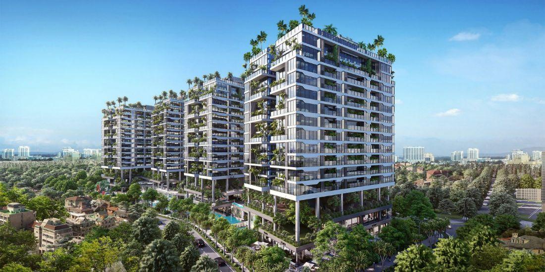 Quy mô dự án căn hộ Sunshine Green Iconic Long Biên