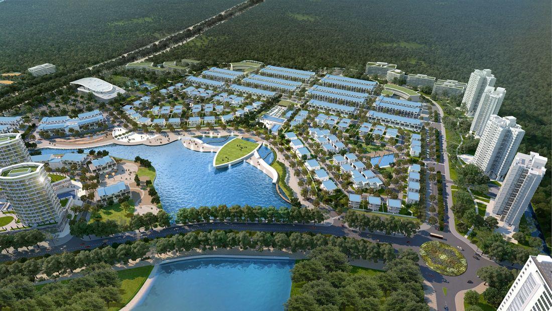 Khu đô thị Hồ Gươm Xanh Bình Dương