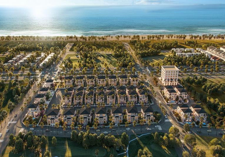 Quy mô dự án biệt thự The Residence Phú Quốc