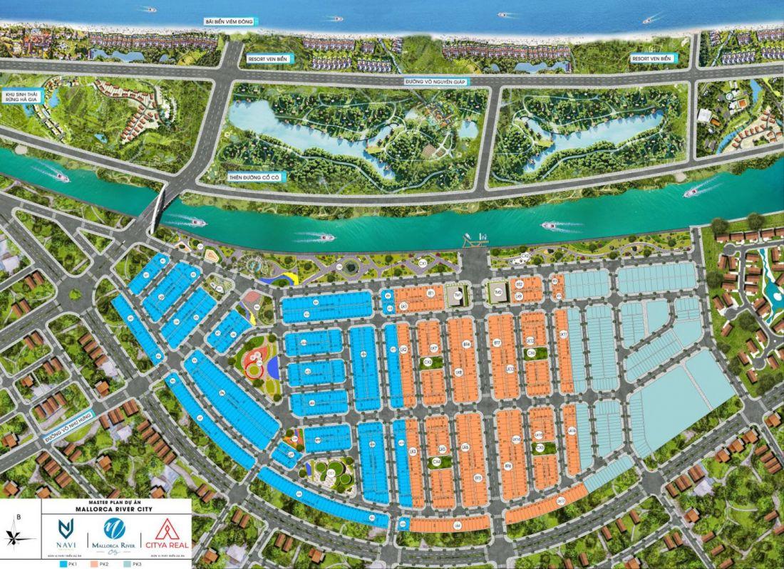 Đất nền Mallorca River City Quảng Nam