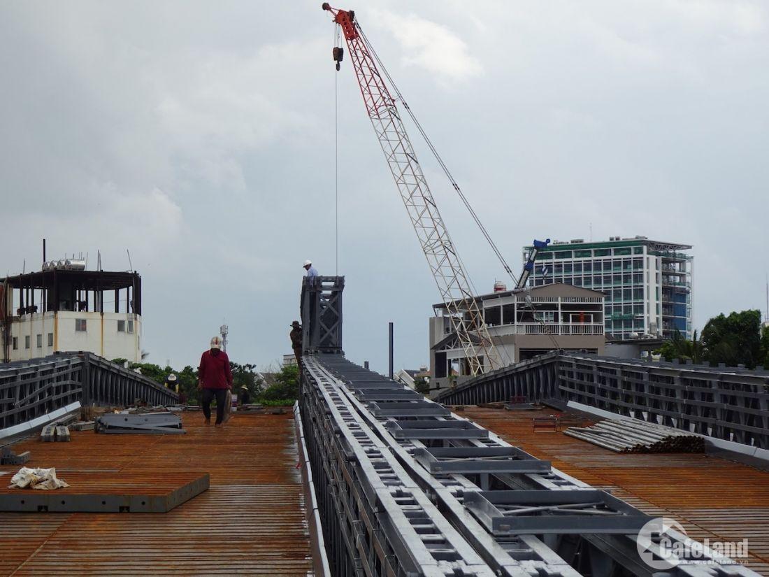 Cầu nối quận 12 với Gò Vấp sắp hoàn thành, giá đất lại tiếp tục nhảy múa