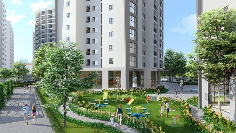 Khu chung cư Berriver Jardin Long Biên