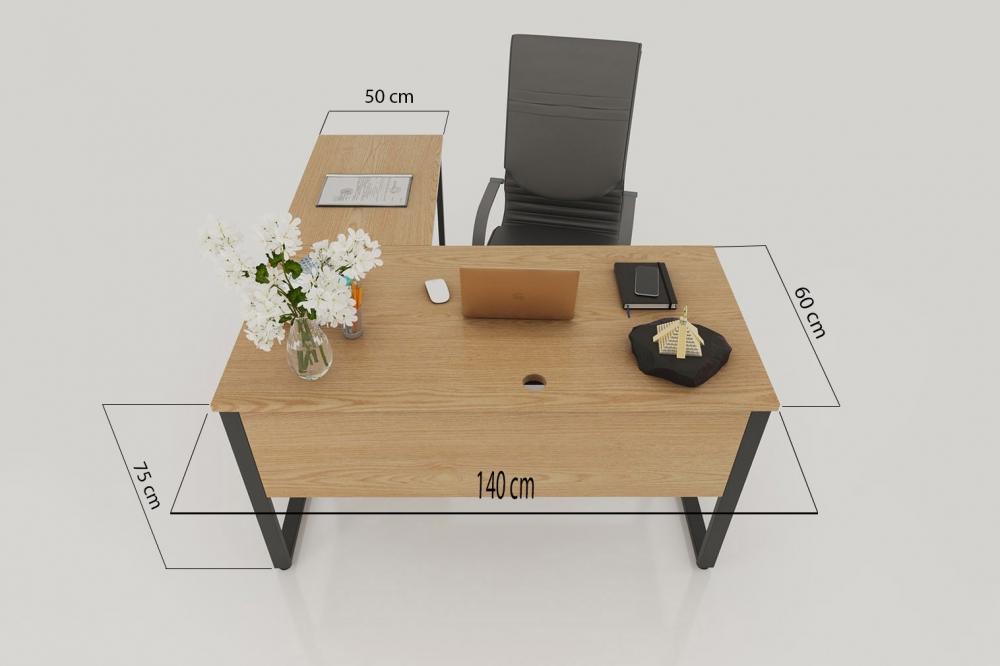 Kích thước bàn làm việc hình chữ L theo phong thủy