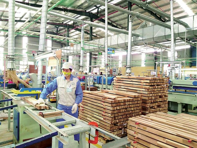 Xuất khẩu gỗ tăng mạnh