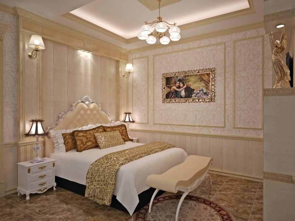 Trang trí phòng ngủ đơn giản mà đẹp bằng khung ảnh - CafeLand.Vn