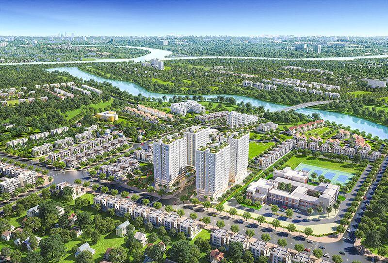 5 dự án căn hộ dưới 2,5 tỷ khuấy đảo quận Nhà Bè tương lai