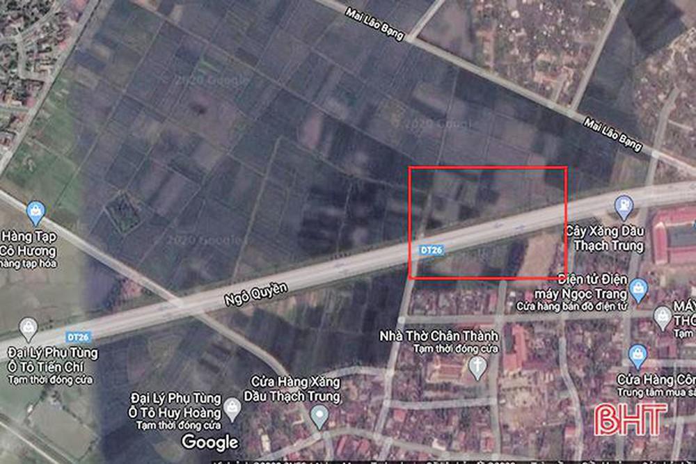 Hà Tĩnh chấp thuận chủ trương đầu tư Khu đô thị mới hơn 40ha.