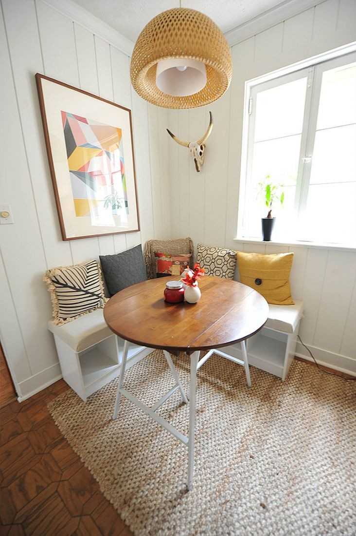 Góc ăn sáng hoàn hảo trong ngôi nhà hiện đại