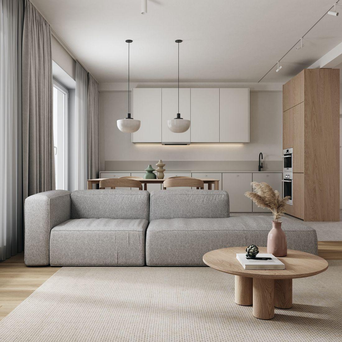 Căn hộ nhẹ nhàng, thanh lịch nhờ trang trí nội thất hiện đại