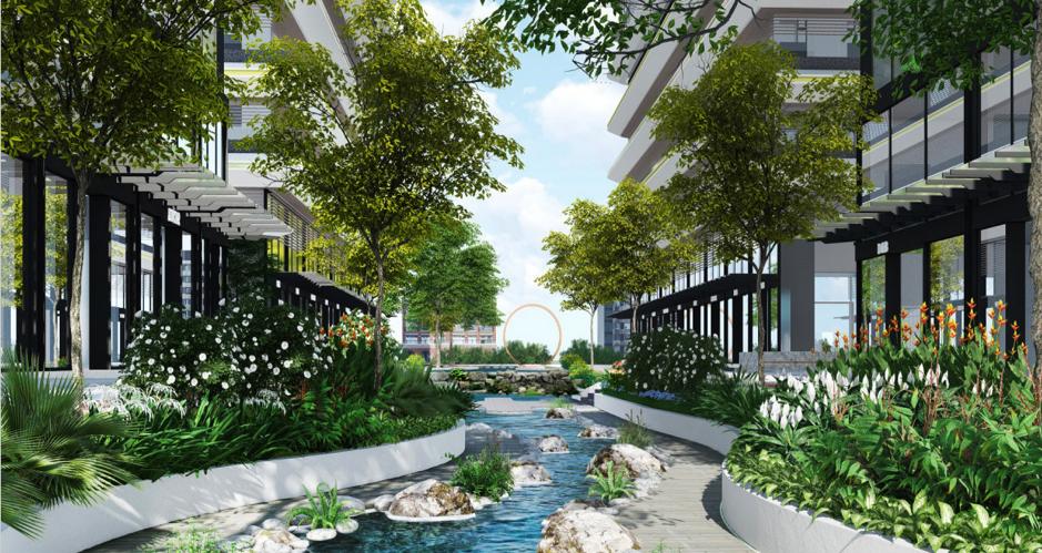Suối nhân tạo 3.000 m2 giữa lòng Astral City