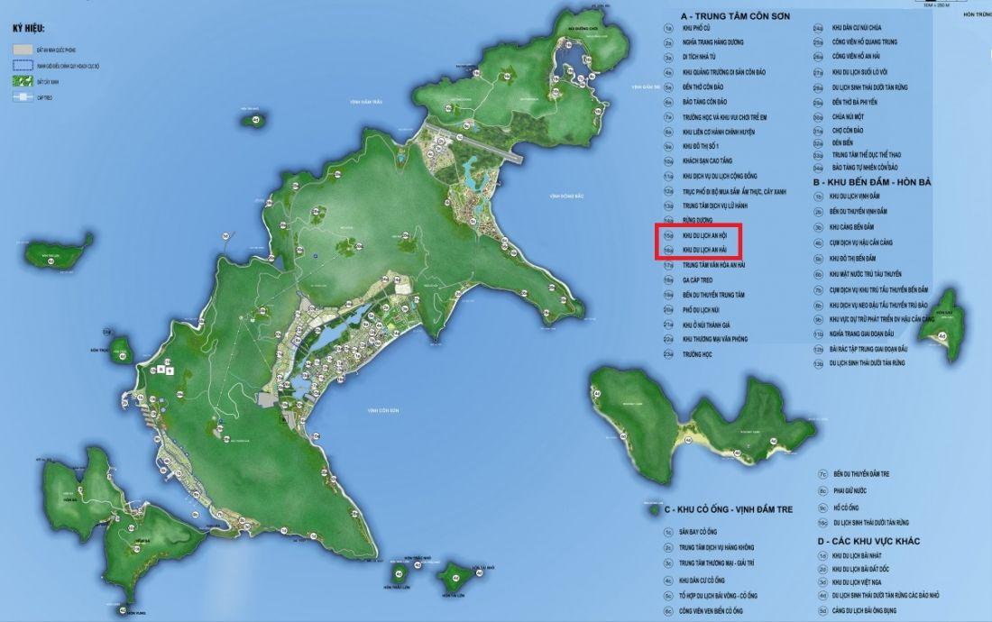 Bà Rịa - Vũng Tàu giao Công an điều tra vụ đất vàng gần 8ha Tân Hiệp Phát trúng đấu giá ở Côn Đảo