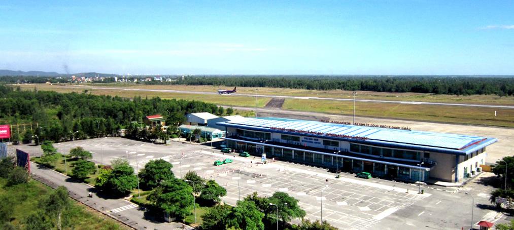 Gần 500 tỉ đồng mở rộng sân đỗ sân bay Phú Bài