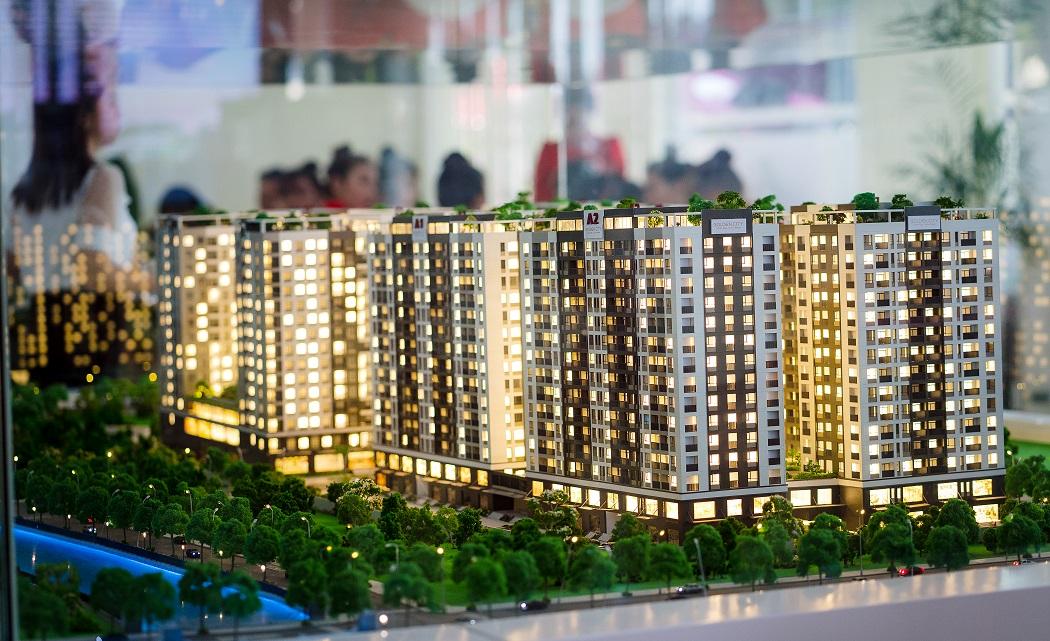 Khai trương nhà mẫu dự án Golden City