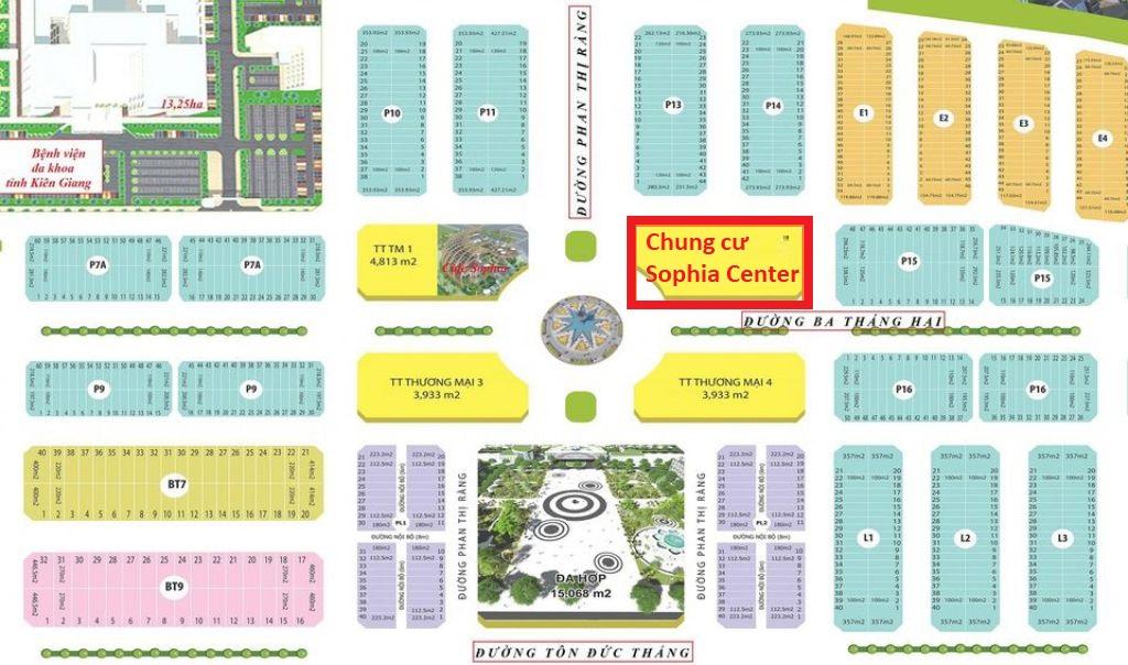 Căn hộ Sophia Center - Khu đô thị Phú Cường